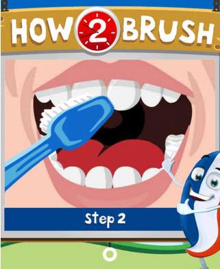 Aquafresh Brush Time App